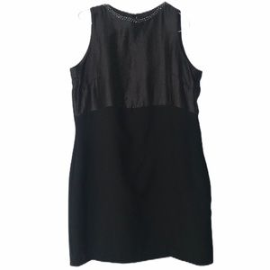 H&M Black Sleeveless Dress Size 16